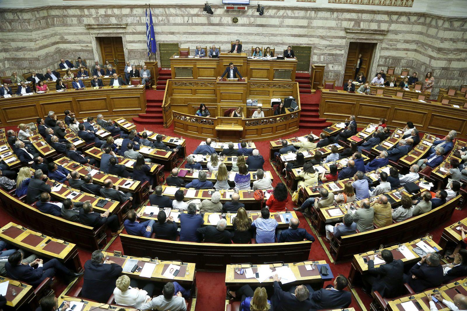 Alexis Tsipras/ Griechenland/ Parlament
