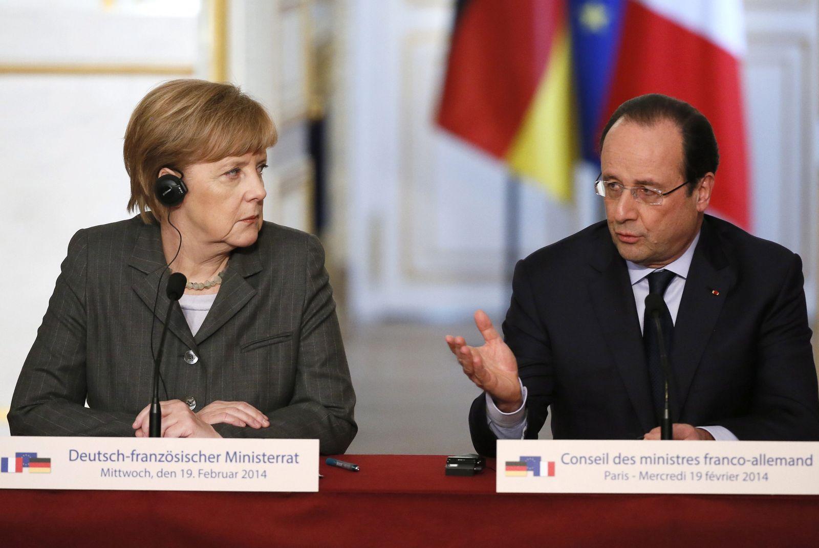 Merkel/ Hollande