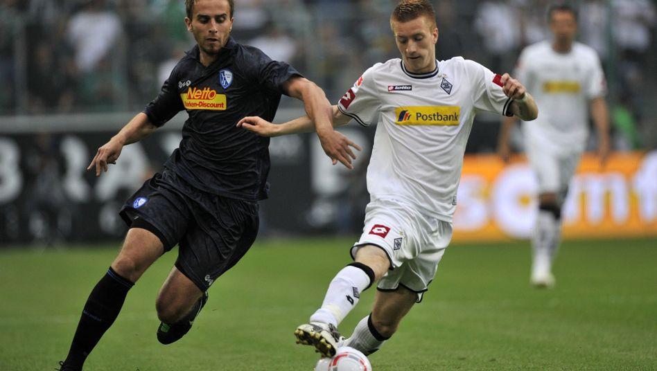 Gladbacher Reus (r.): Einsatz gegen Bochum nicht ausgeschlossen