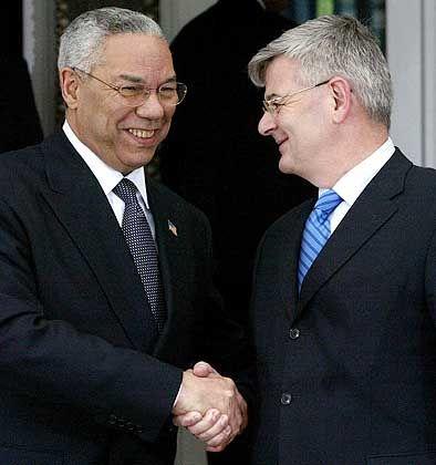 """Powell und Fischer: """"Joschka und ich"""""""