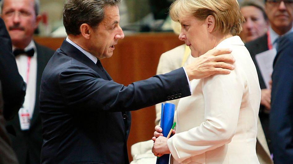 Sarkozy, Merkel: Euro-Länder würden Souveränitätsrechte nur in höchster Not opfern