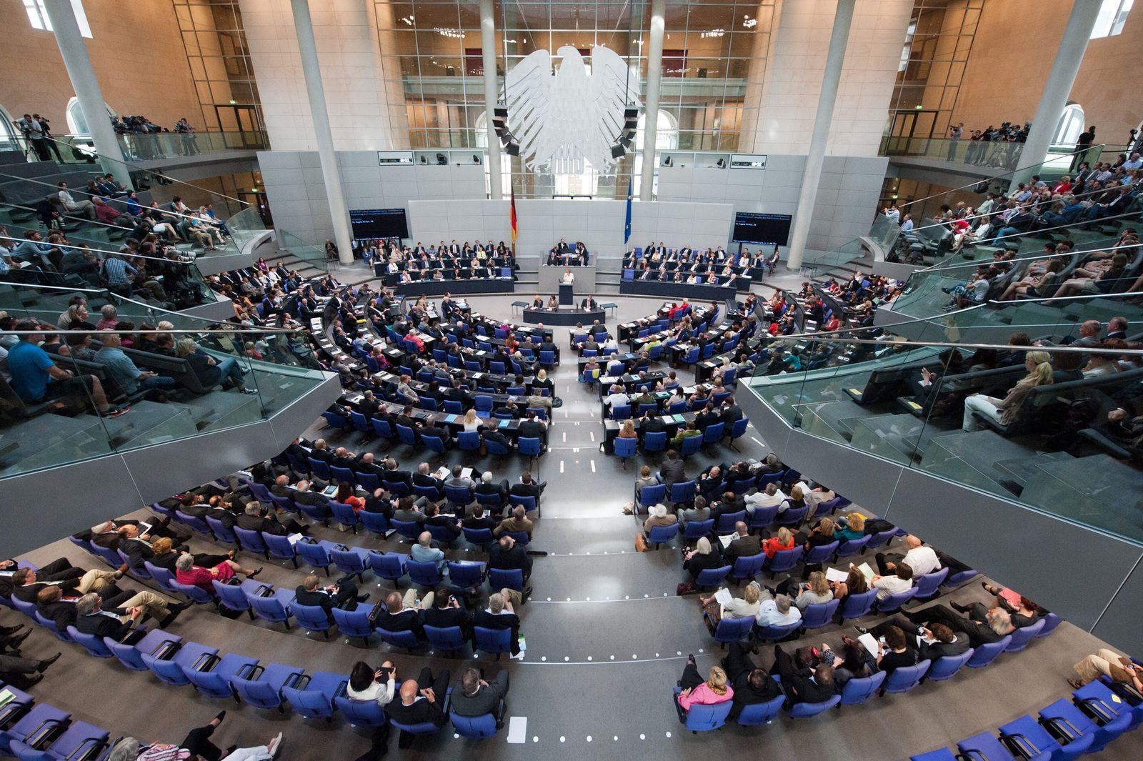 Bundestag/ Abstimmung
