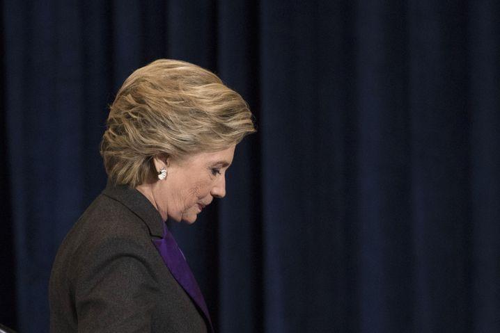 """Demokratin Clinton: """"Wir waren uns zu sicher"""""""