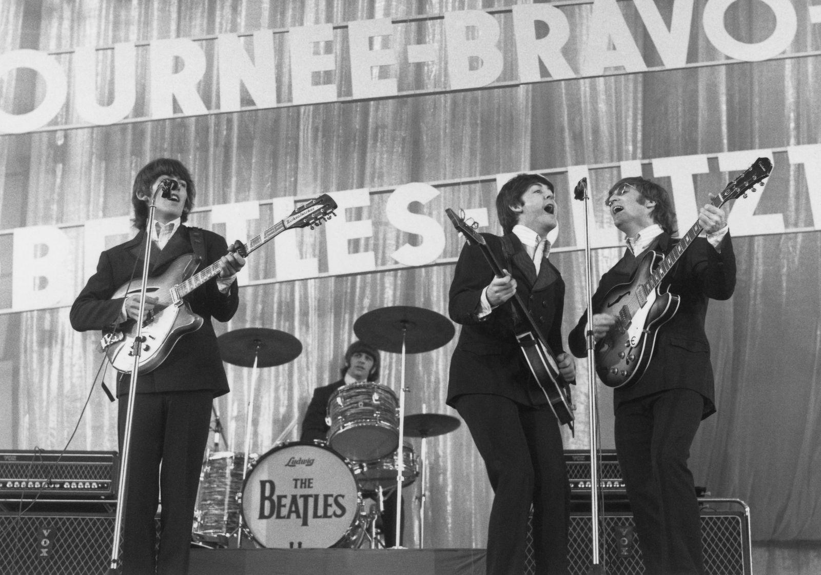 Beatles in Hamburg - Bravo-Beatles-Blitztournee