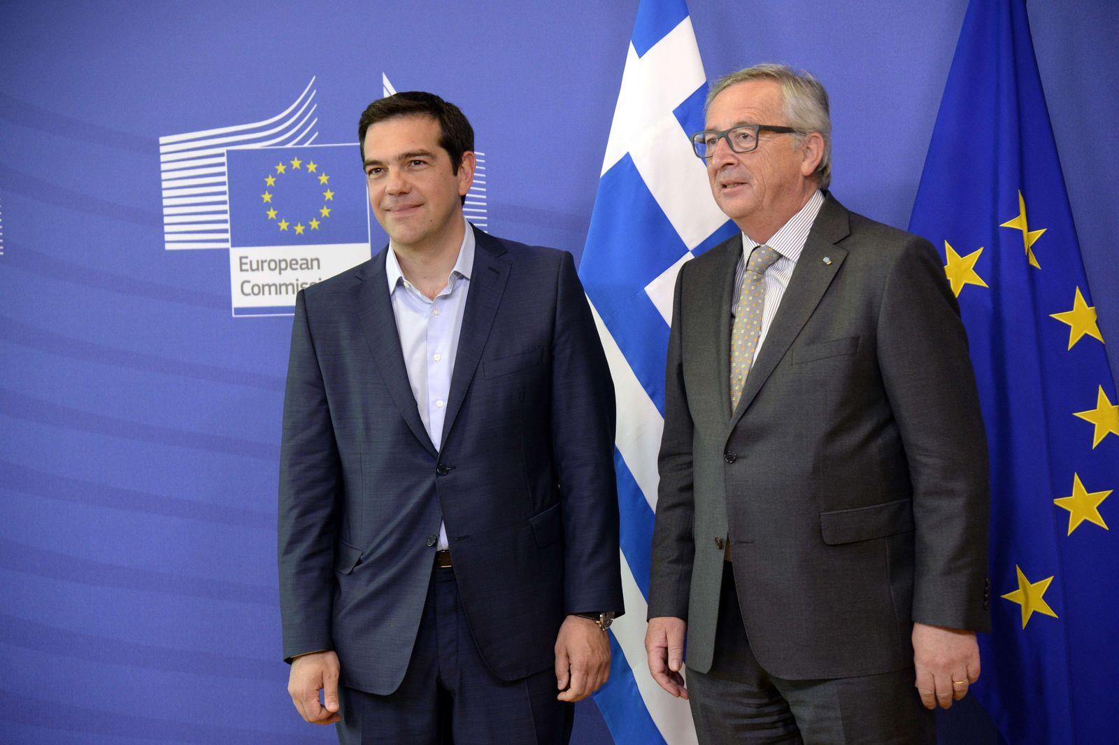 Juncker/ tsipras
