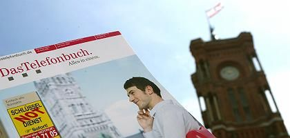 Berliner Telefonbuch: Münchner Rathaus statt Rotem Rathaus