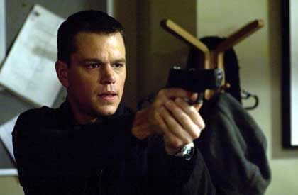 Bourne-Darsteller Damon: Ich ist zum Schießen