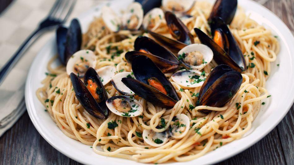 Typisch Italien: Spaghetti mit Meeresfrüchten (Symbolbild)