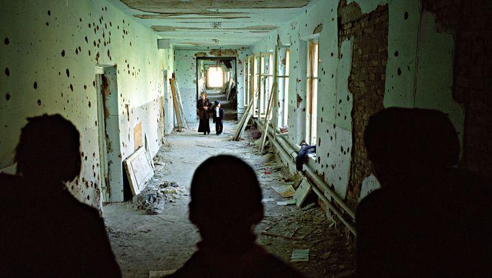 Geiselnahme in Beslan: Blutbad in der Turnhalle