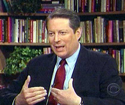 Al Gore beim TV-Sender CBS: Keine erneute Kandidatur gegen George W. Bush