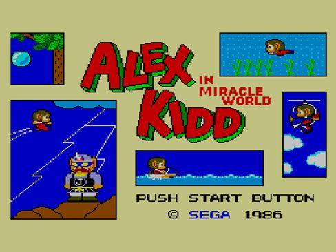 Alex Kidd war auf Segas 8-Bit-Konsole Master System beliebt und wurde vor Sonic zum inoffiziellen Maskottchen