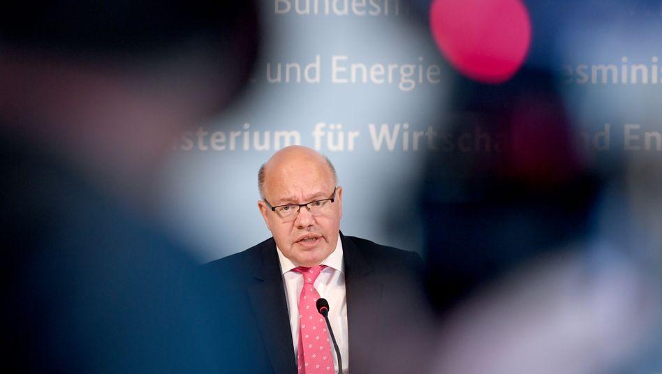 Wirtschaftsminister Altmaier will einen parteiübergreifenden Pakt zur Klimarettung