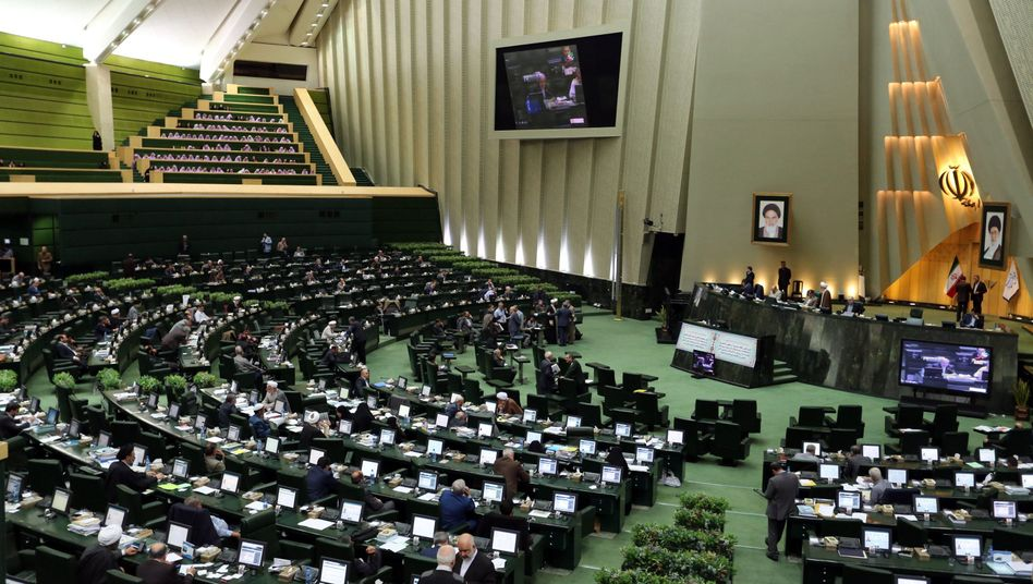 Iranisches Parlament in Teheran