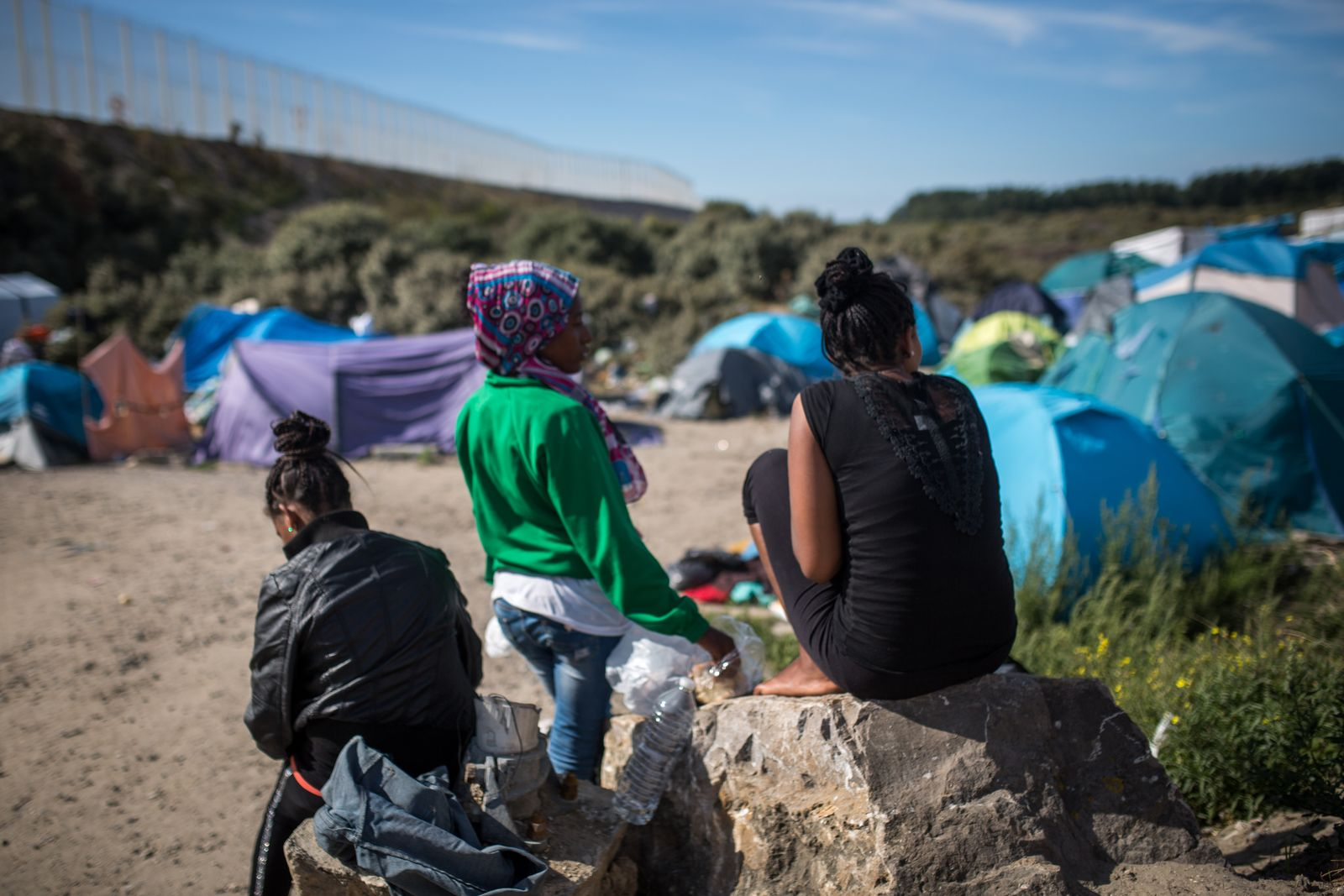 calais eurotunnel flüchtlinge