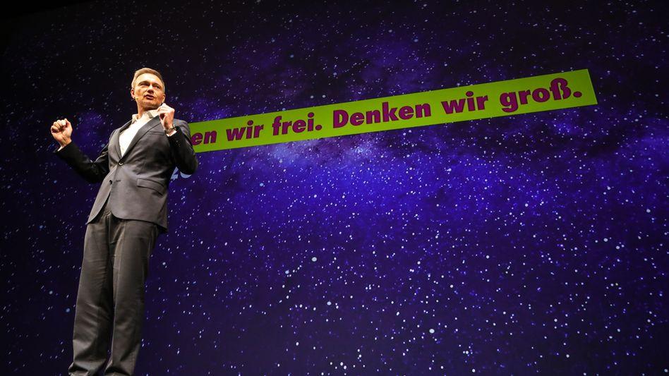 """FDP-Chef Lindner: """"Alternative in der politischen Mitte"""""""