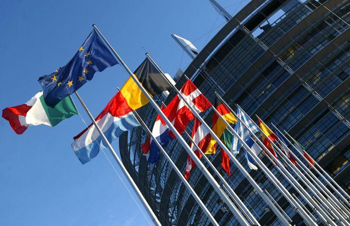 EU-Parlament (in Straßburg): Aufatmen nach dem Urteil des Bundesverfassungsgerichts