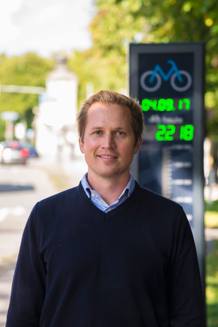 Florian Paul, Radverkehrsbeauftragter der Stadt München