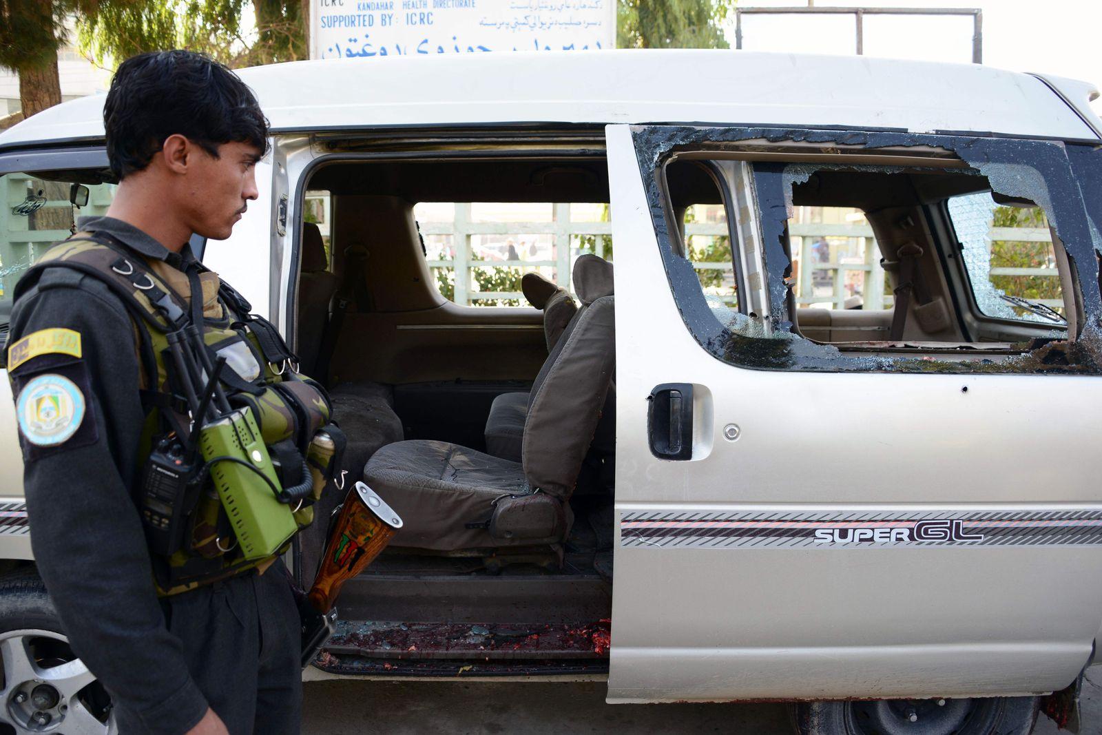 Anschlag Kandahar Flughafen