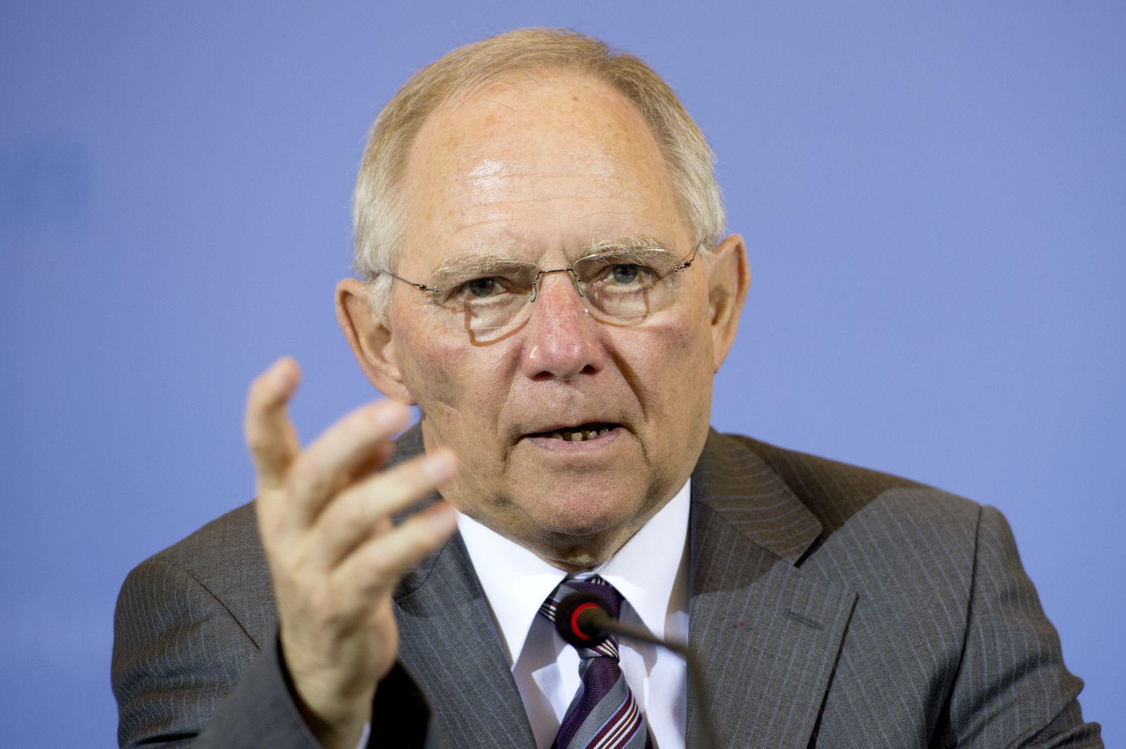 EINMALIGE VERWENDUNG Schäuble