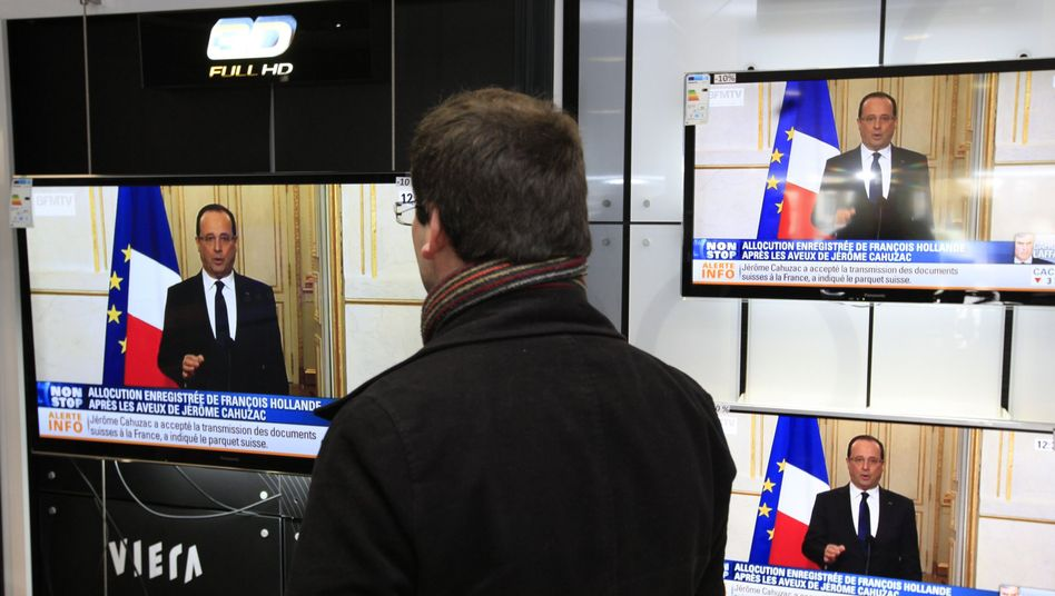 French President Francois Hollande announced anti-corruption reforms on Wednesday.