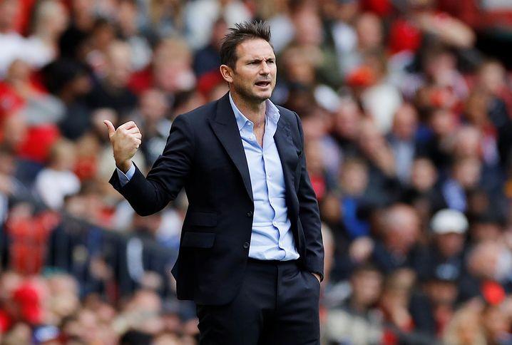 Frank Lampard hat sich seine Premiere sicher anders vorgestellt