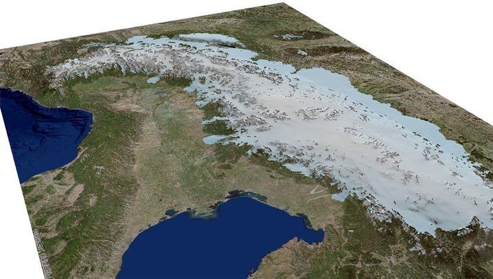 Aufsteigendes Gebirge: Die Alpen wachsen