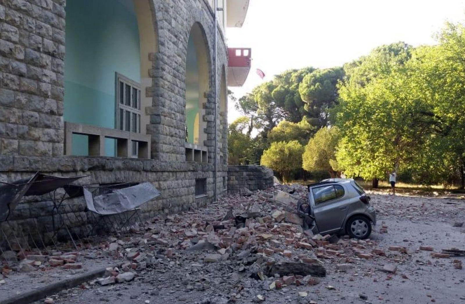 Erdbeben in Albanien