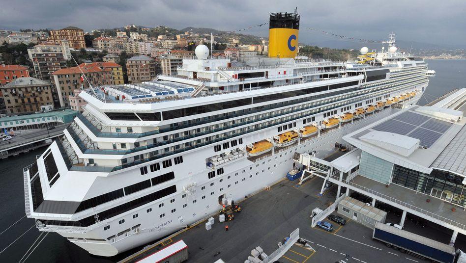 """""""Costa Serena"""" in Italien: Schiffsleitung verweigerte Kooperation mit ADAC-Testern"""