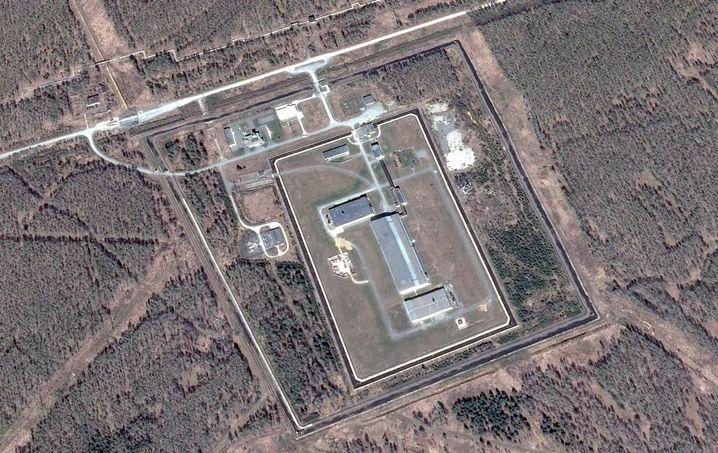 Undatierte Aufnahme der Atomanlage Majak