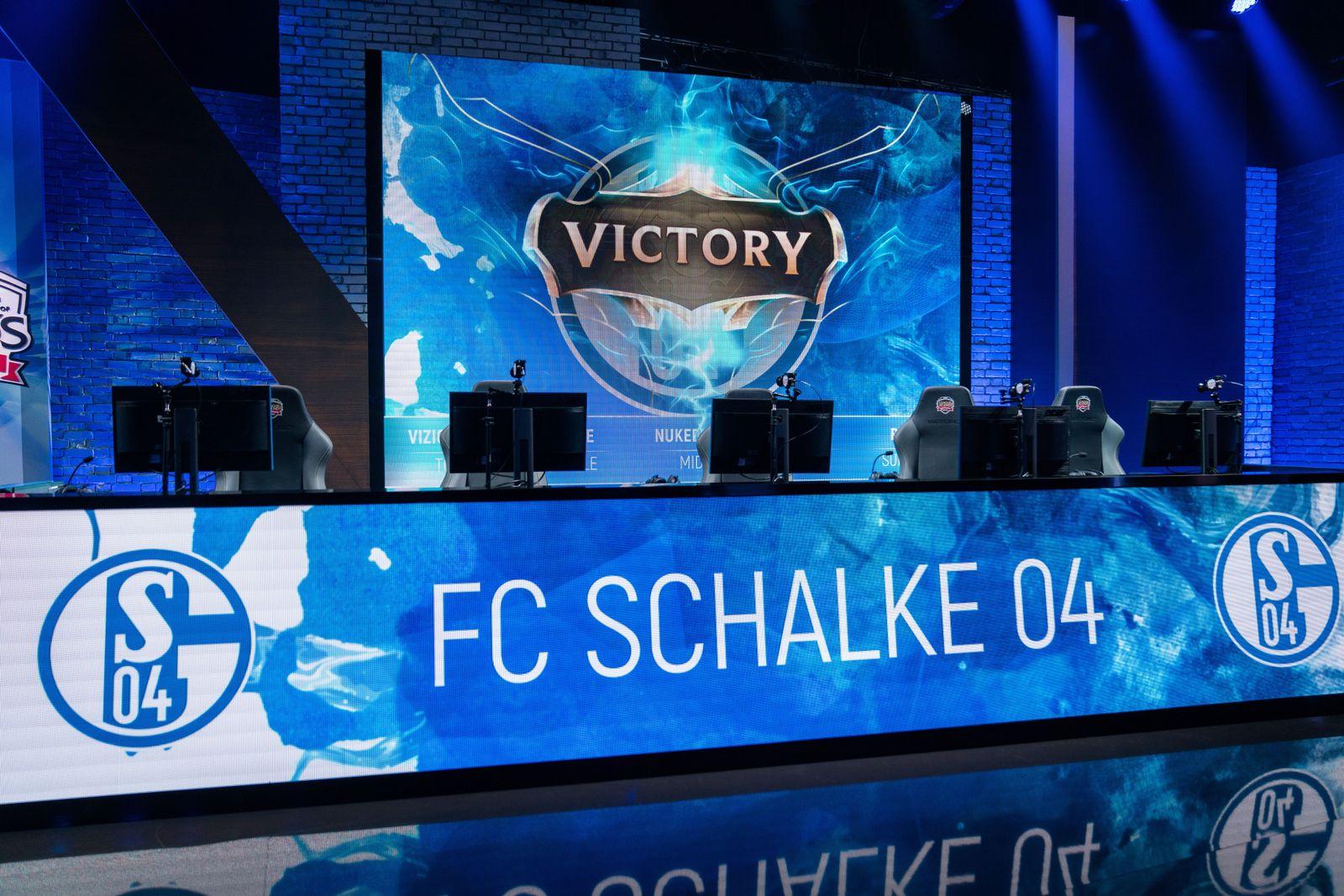 EINMALIGE VERWENDUNG FC Schalke 04/ eSports