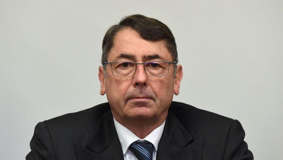 Georg Funke im Landgericht München I