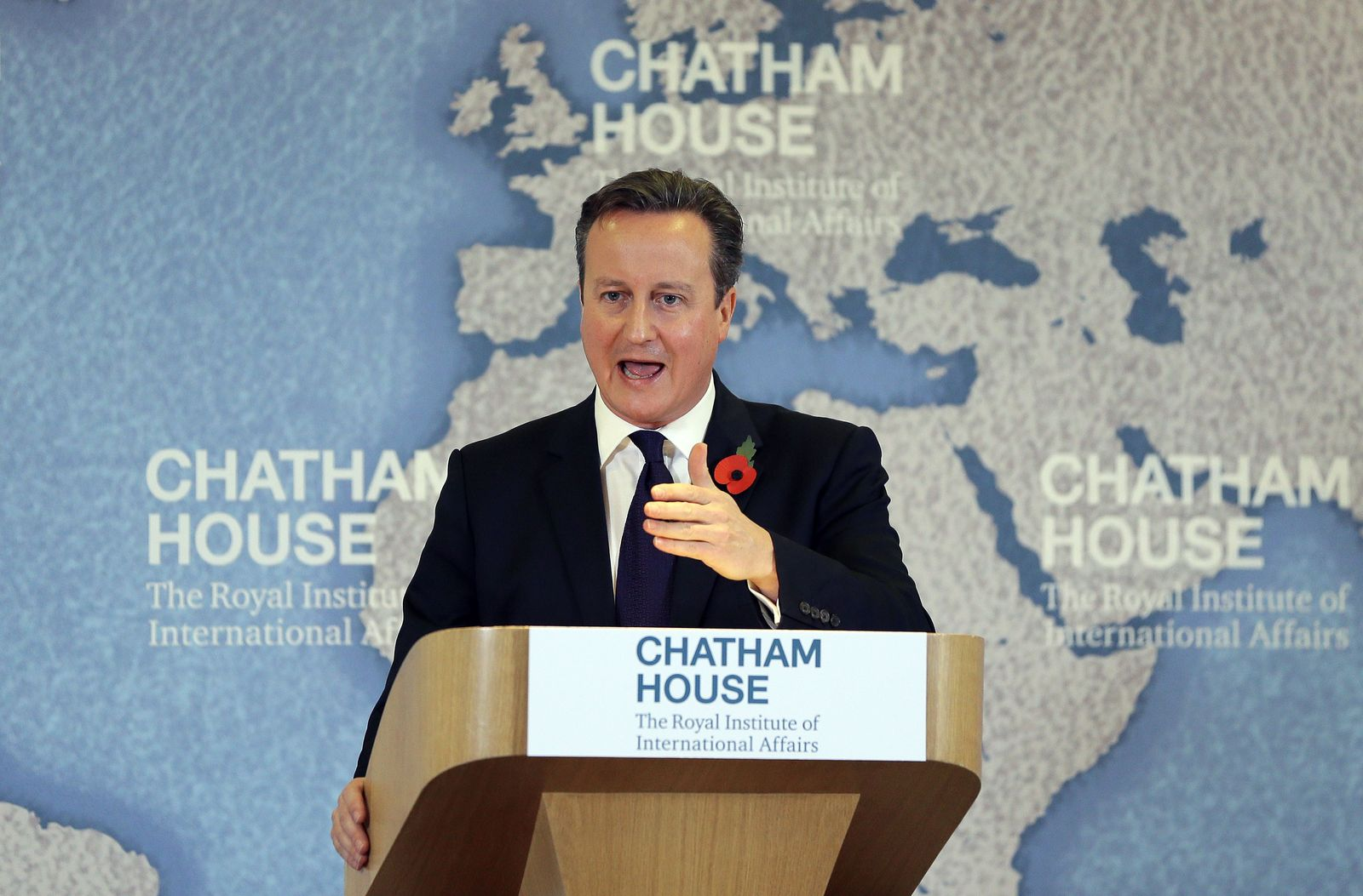 Chatham House/ David Cameron/ Rede