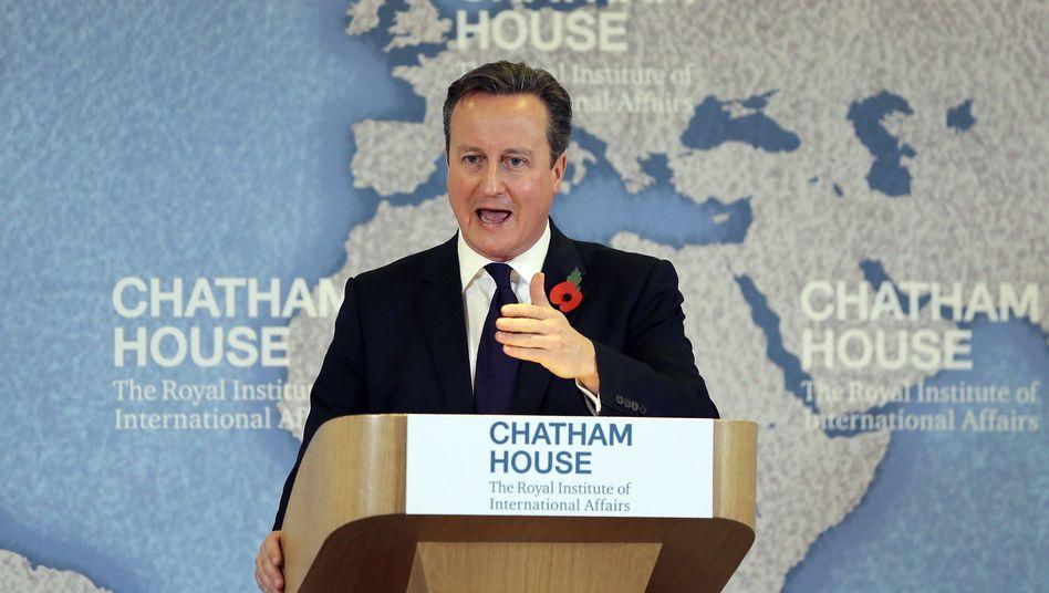 """Großbritanniens Premier Cameron: """"Klare, gesetzlich bindende und irreversible"""" Ausnahmeregelungen"""