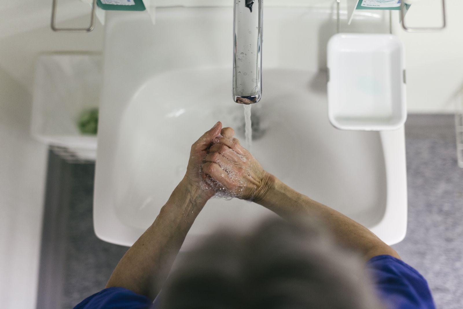 EINMALIGE VERWENDUNG Krankenhauskeime