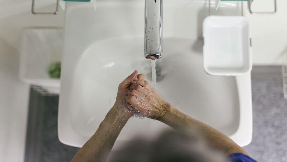 Händewaschen bietet häufig den besten Schutz vor Infektionen