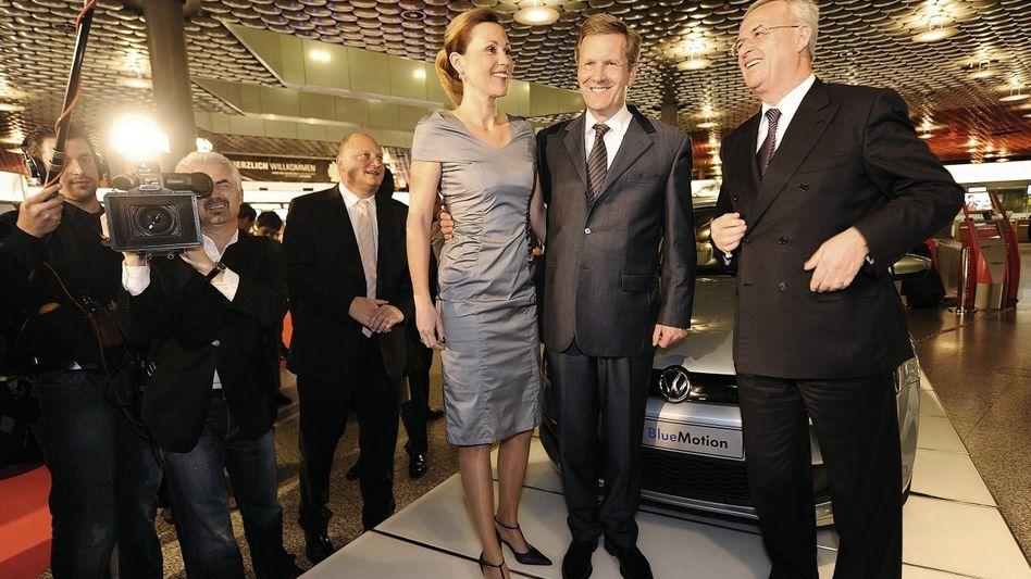 Ehepaar Wulff, VW-Chef Winterkorn(*): »Nur eine Schlussfolgerung«