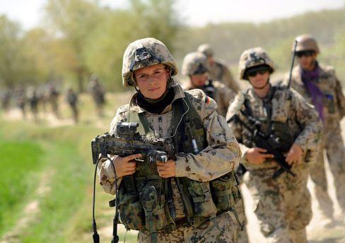 Bundeswehrsoldatin in Afghanistan