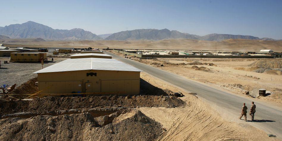 Camp Marmal in Masar-i-Scharif: Zwei-Dosen-Regel für Soldaten
