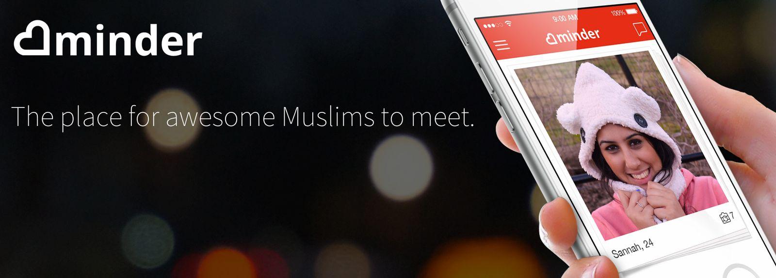 EINMALIGE VERWENDUNG Dating-Apps für Muslime