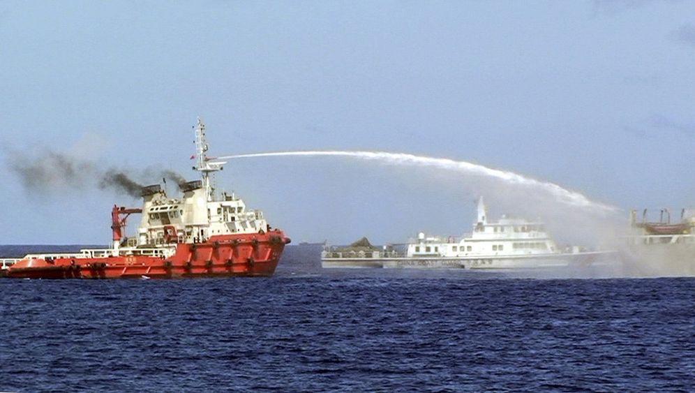Streit um Ölbohrinsel: China auf Konfrontationskurs