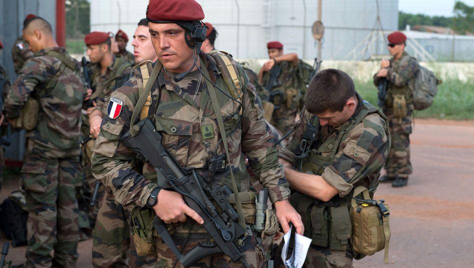 Französische Truppen in Bangui: Erste Tote nach Gefechten am Flughafen