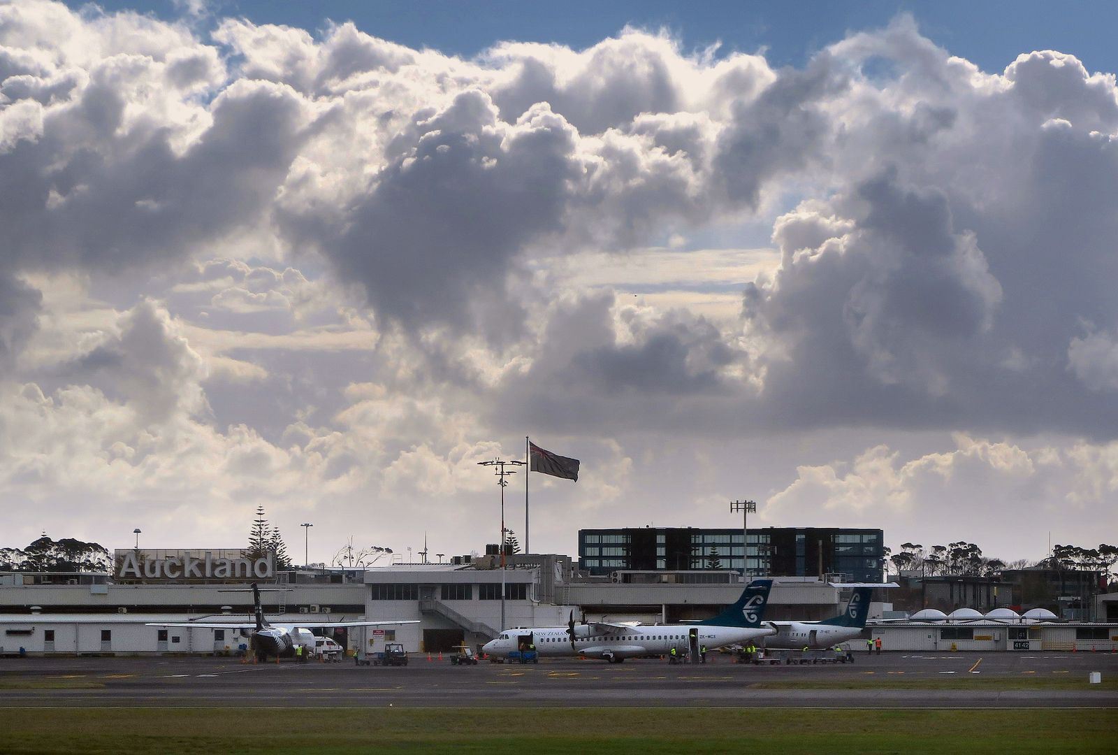 Airport Auckland/ Neuseeland/ Flughafen