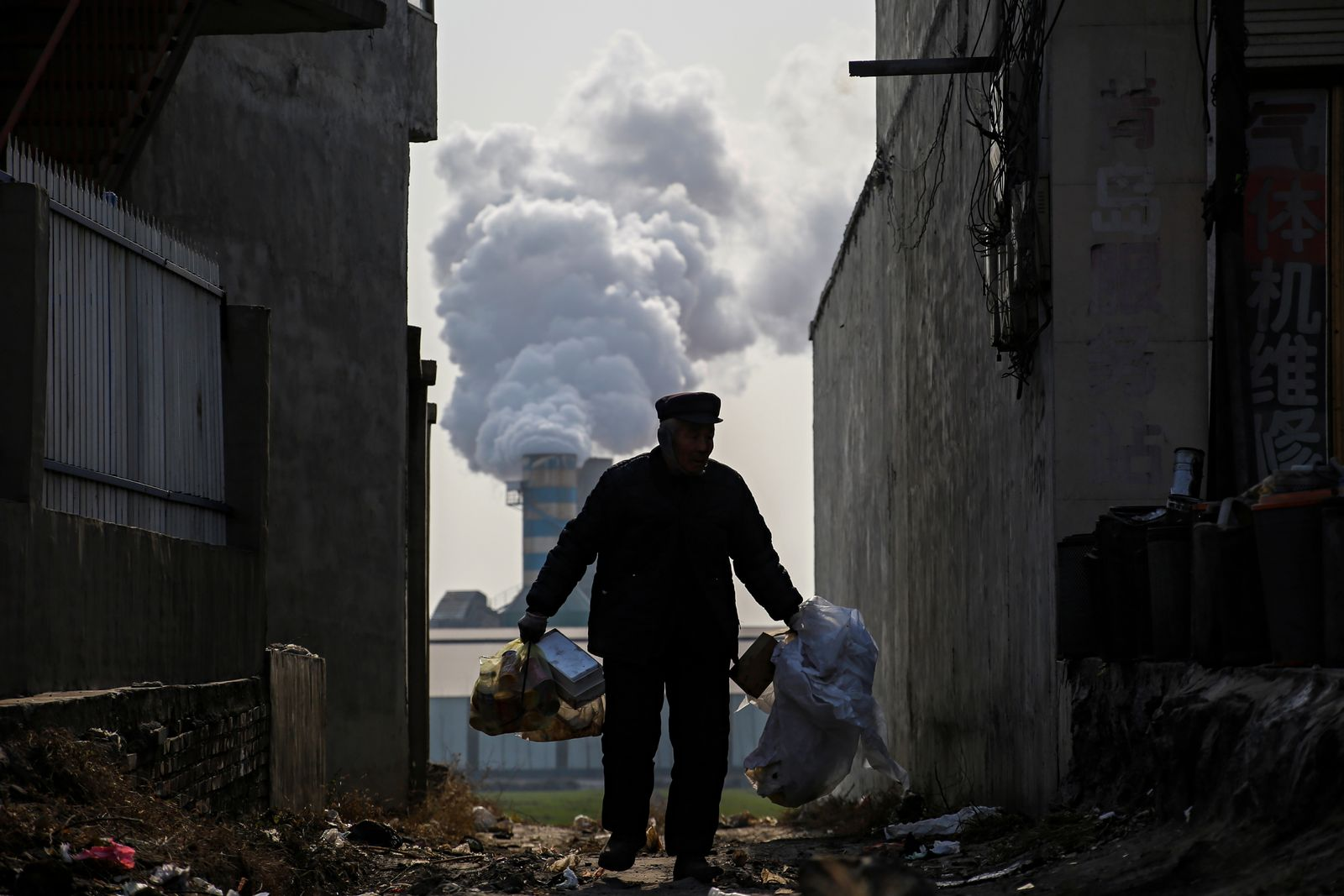 CHINA-POLLUTION/GAS