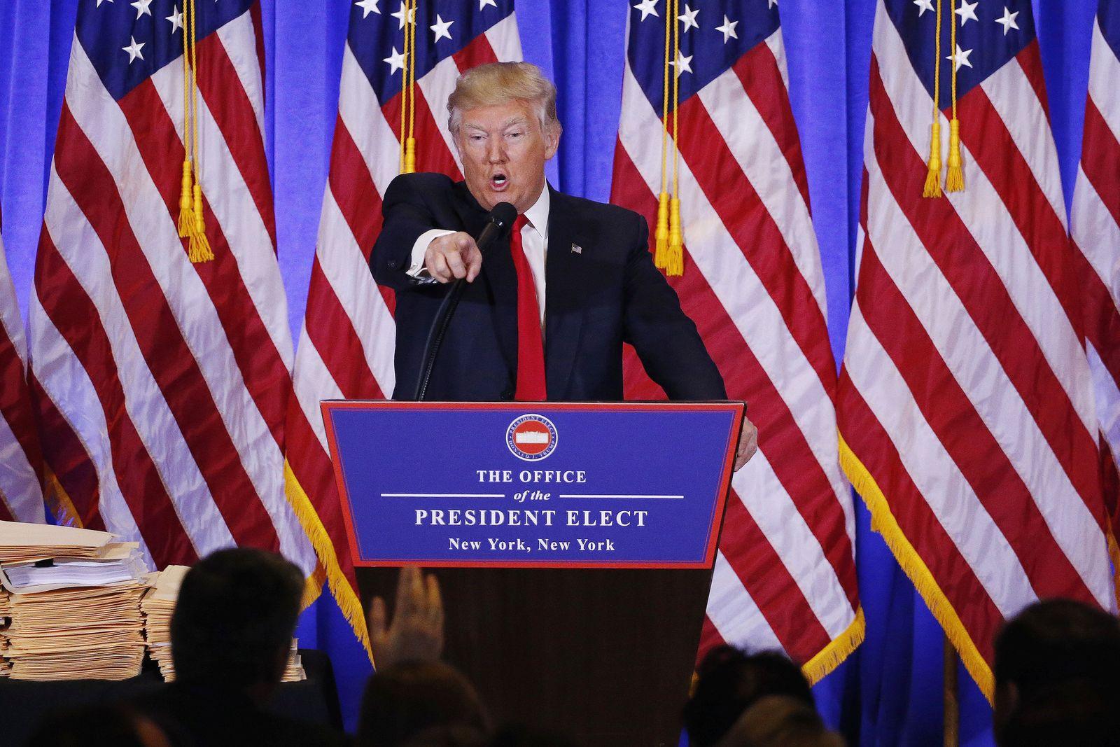 Trumps Abschussliste / Donald Trump