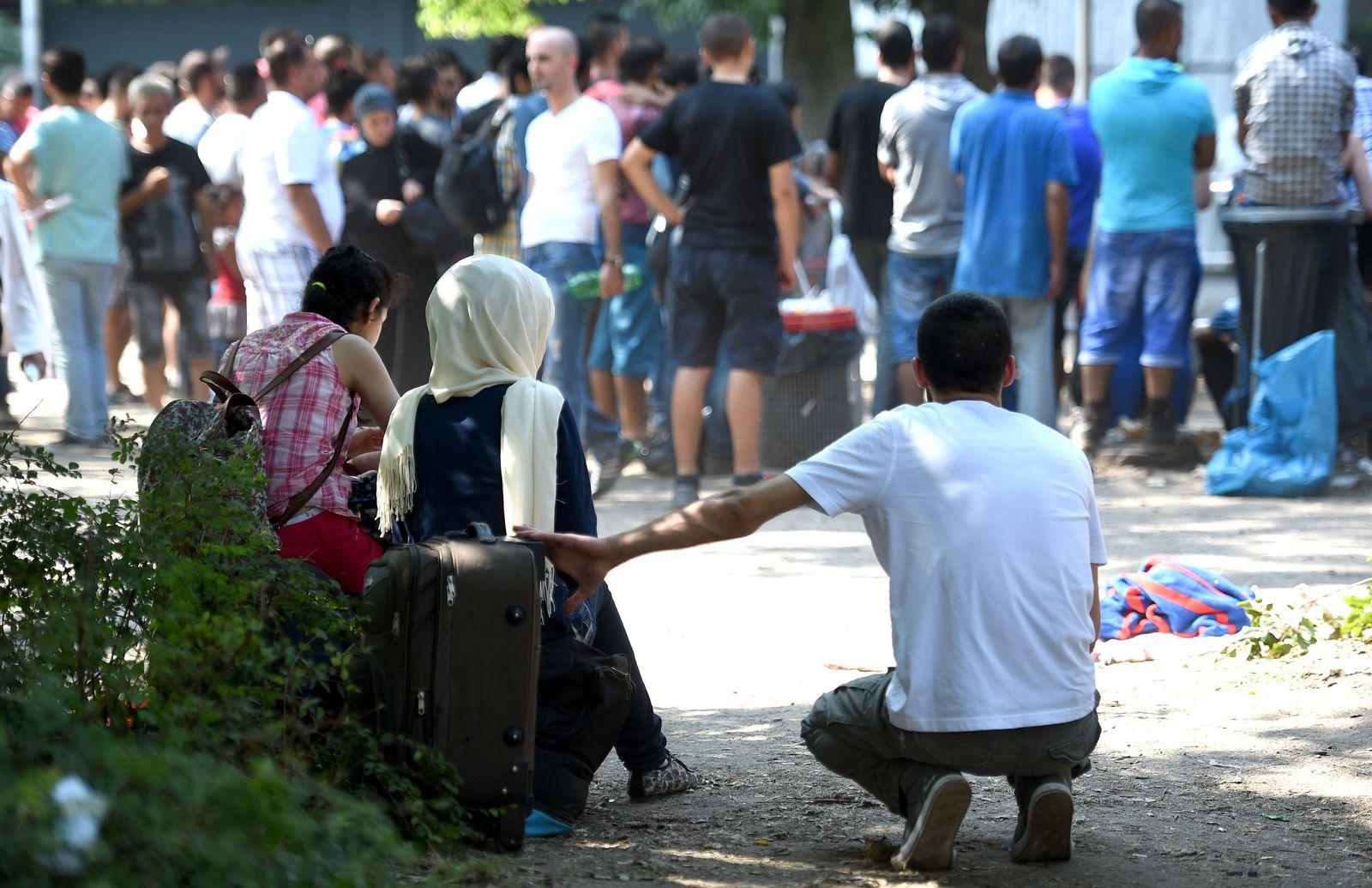 Flüchtlinge berlin