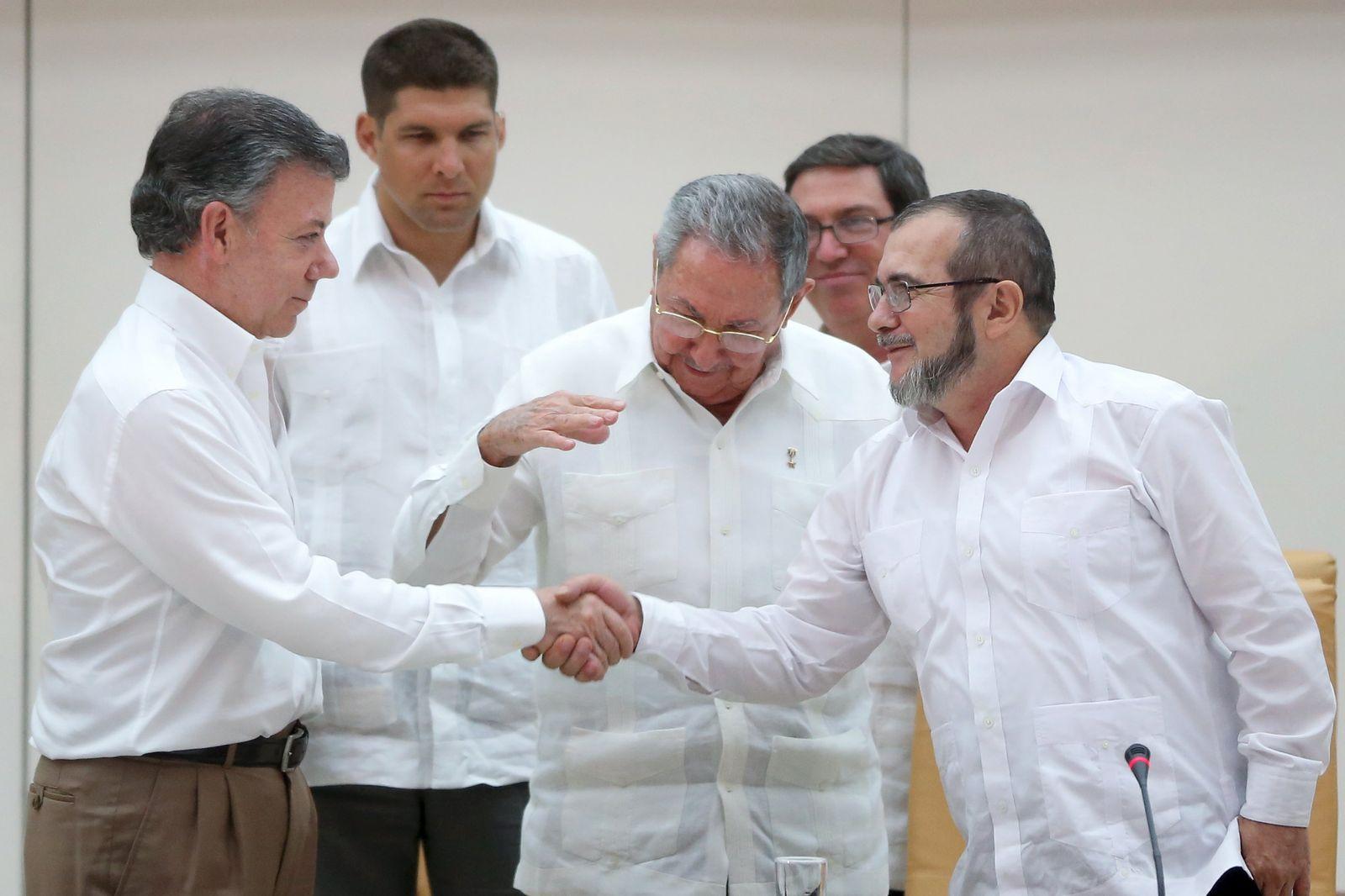 Jahresvorschau 2016 / Kolumbien Farc Frieden