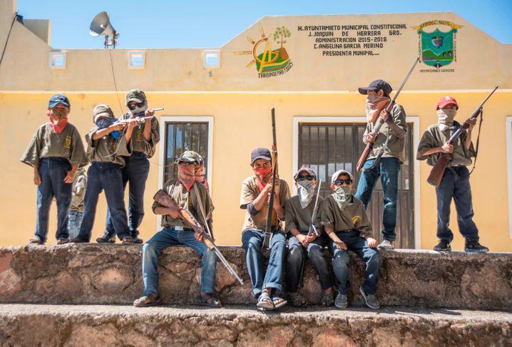 Viele Orte in Guerrero haben Bürgerwehren gebildet – in Ayahualtempa patrouillieren sogar Kinder