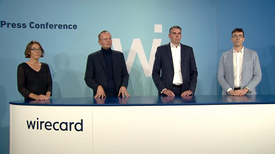 Wirecard-Vorstand: Bemerkenswerter Videoauftritt
