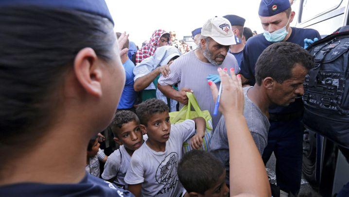 Flüchtlingskrise: Der Tag in Bildern