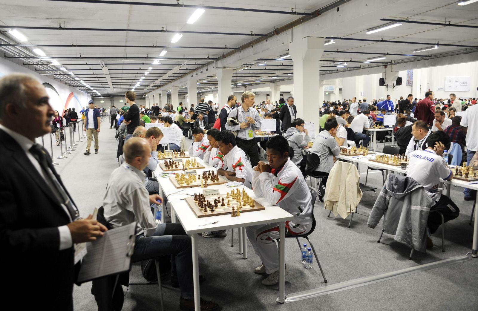 Schach-Olympiade Tromsö